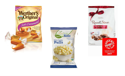 Russell Stover, Werther's Original win Product of the Year award