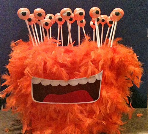 Monster Head Cake Pop Stand