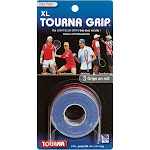 Tourna Grip Overgrip XL Original - Blue -3 Pack