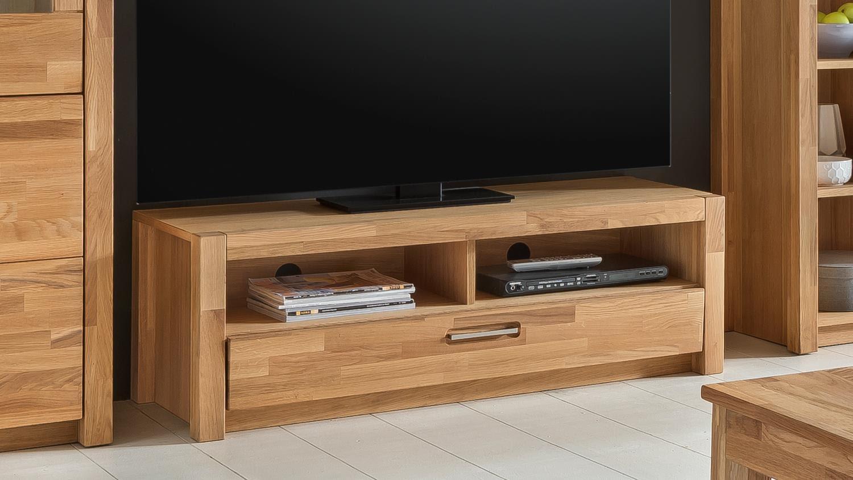 tv mobel wildeiche massiv geolt massivholz tv lowboard mit 1