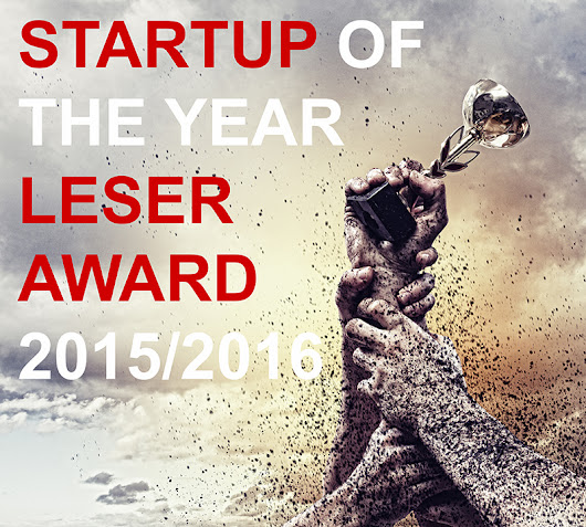 Startup of the Year Leser Award 2015-2016