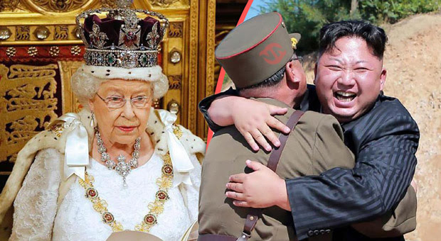 the queen has prepared a world war 3 speech as tensions mount with north korea