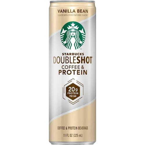 Starbucks Doubleshot Coffee Protein Beverage Vanilla Bean
