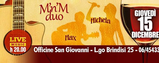 MnM duo Live at Officine San Giovanni