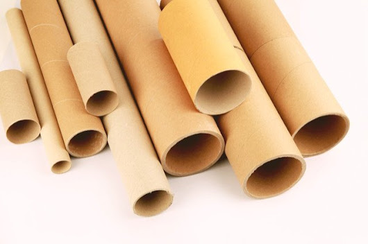 Cardboard Tubes Charity's Heaven for Crafters | Romiley Board Mill