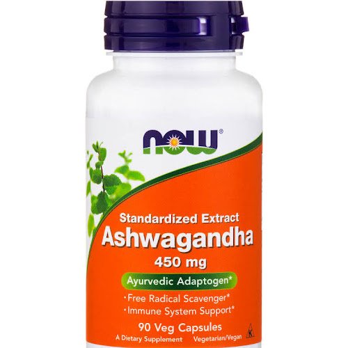 Now Foods Ashwagandha Extract Capsules, 450 mg - 90 count