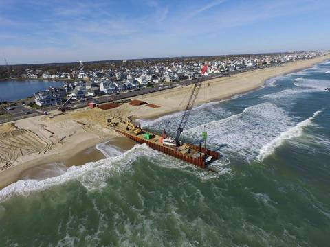 IN THE SNAP-LIGHT: Belmar Beachfront at Lake Como is Ground Zero for Major Outfall Pipeline Project