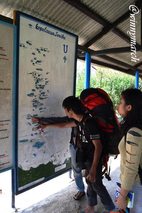 Peta Pulau Seribu