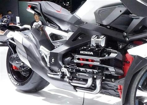 honda neo wing   trike  wheel motorcycle