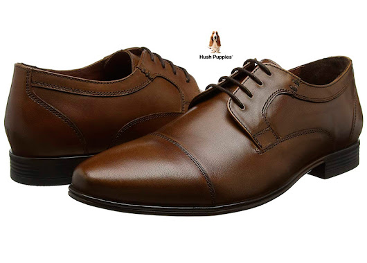 ¡Chollo! Zapatos Hush Puppies Bertrand Cap Toe baratos 36,50€