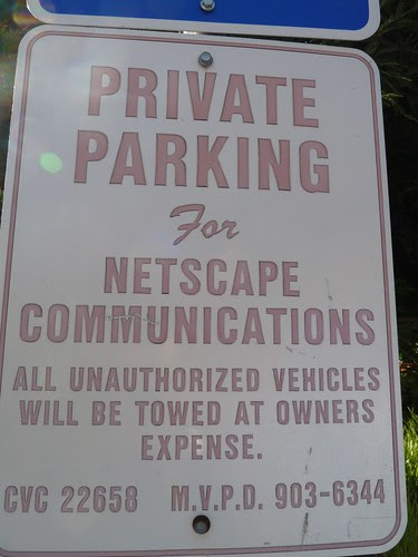 Private Parking for Netscape communications