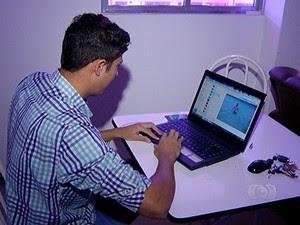A maneira mais segura de não sair lesado de umca compra online é optar pelo pagamento com cartão de crédito (Foto: Reprodução/TV Anhanguera)