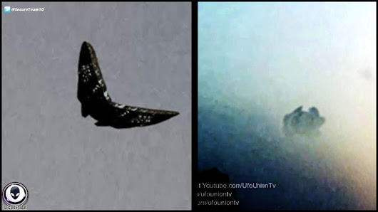 Two Different UFOs Captured By Father And Son Duos - AskGhost.com