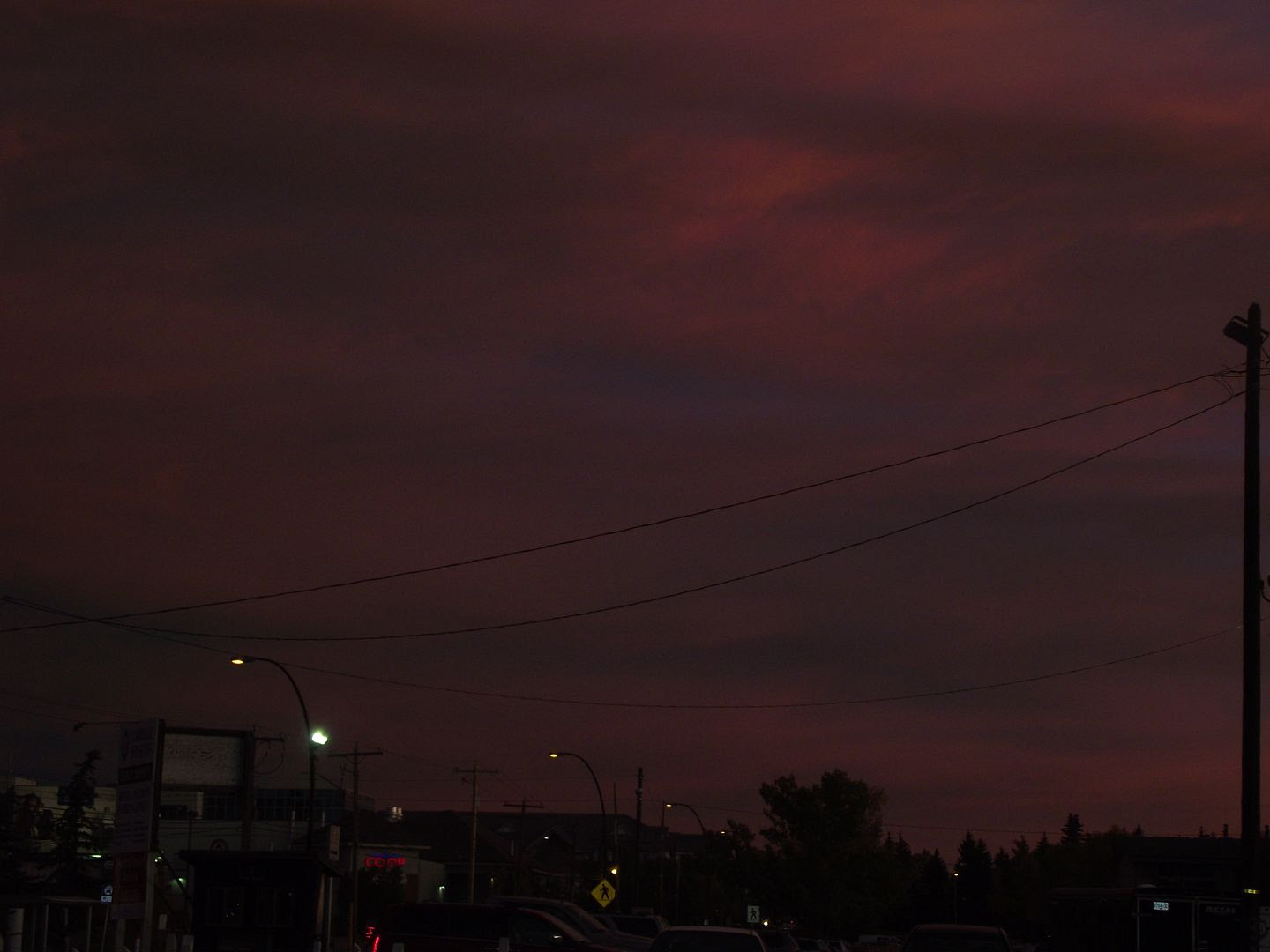 02.21, Date night with hubby. The colours in the sky just took my breath away.