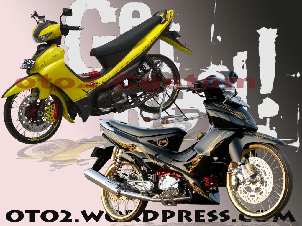 MODIFIKASI MOTOR PALING KEREN 10 10 11