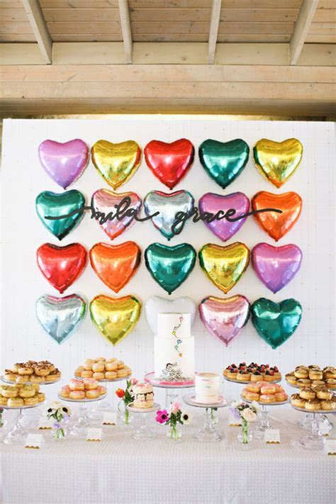 heart themed 1st birthday   Wedding & Party Ideas   100
