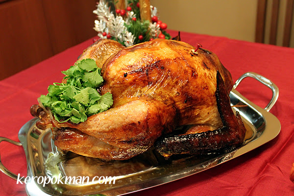Home Baked Christmas Turkey