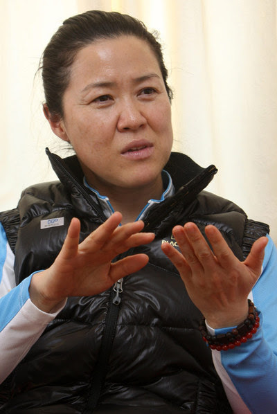 La alpinista surcoreana, Oh Eun-Sun