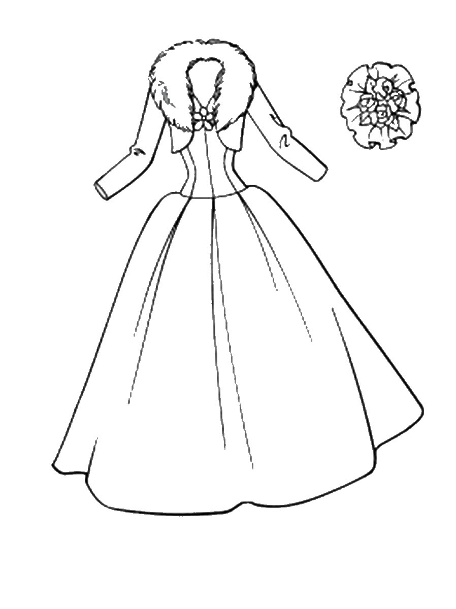 Download Fashion Dress Coloring Pages at GetColorings.com   Free ...