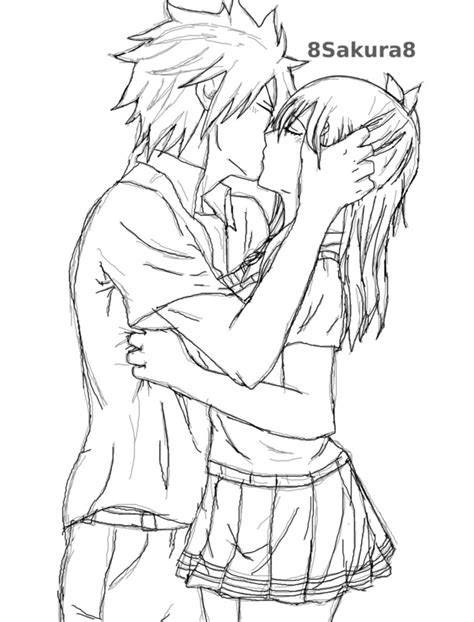 gallery   draw anime kissing drawings art gallery