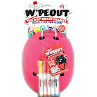 Triple Eight Wipeout Dry Erase Youth Helmet, Neon Pink - Large