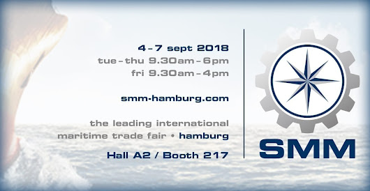 SEE THE NEW FF5300 FLANGE FACER AT SMM 2018 IN HAMBURG