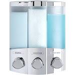 Better Living Trio Dispenser, Chrome/Clear
