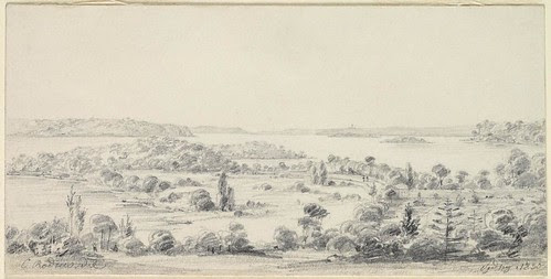 Sydney 1830 [view of the Domain and Mrs. Macquarie's Point]