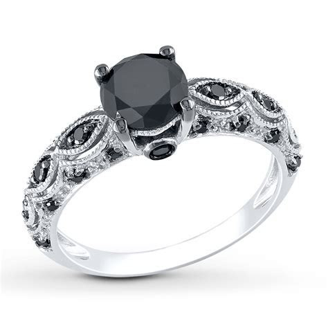 What Does It Mean to Wear a Black Stone Ring?   Diamond