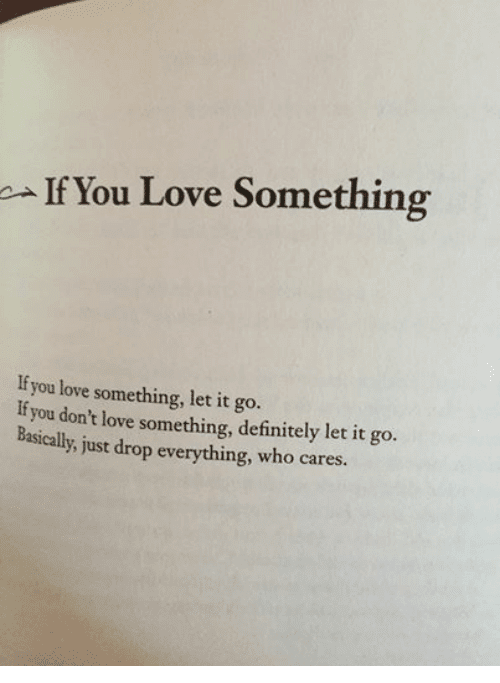 If You Love Someone Let Them Go Meaning