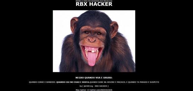 Site de Negra Li é hackeado (Foto: Reprodução / Site Oficial)