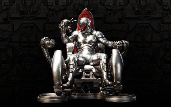 An illustration of Ultron...who will be the main villain in AVENGERS: AGE OF ULTRON.