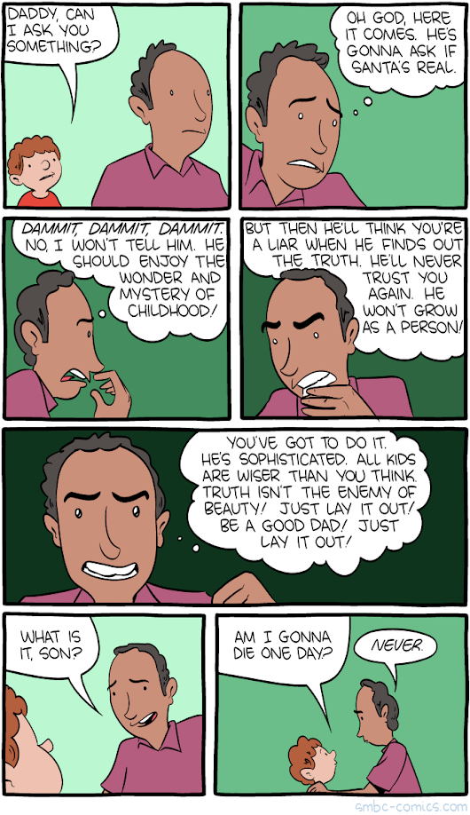 Saturday Morning Breakfast Cereal - The Truth