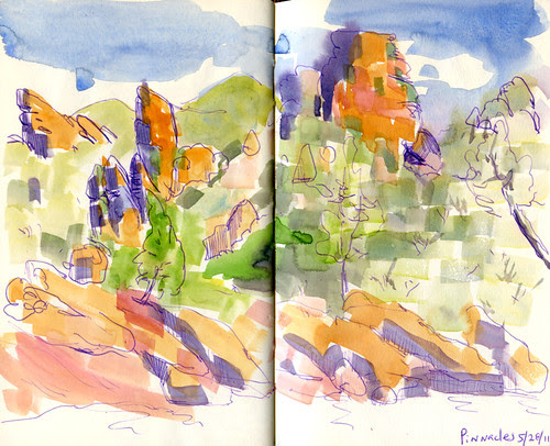 May 2011: Pinnacles National Monument by apple-pine