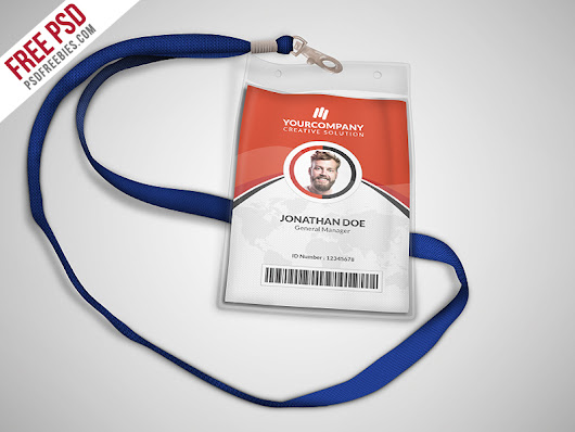 Download Multipurpose Office ID Card Template PSD - Download PSD