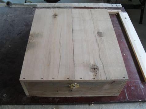 Hand Crafted Handmade Wooden Liquor Gift Box 1 Bottle 4
