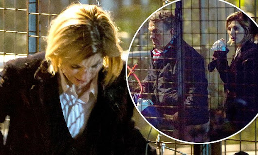 Jodie Whittaker pictured filming Doctor Who | Daily Mail Online