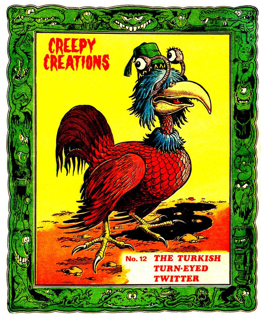 Creepy Creations No.12 - The Turkish Turn Eyed Twitter