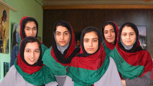 All-Girl Afghan Robot Building Team Denied Entry To US For 'Global' Competition