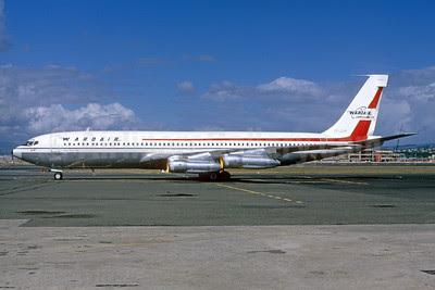 Wardair Canada Boeing 707-396C CF-ZYP (msn 20043) YVR (Bruce Drum Collection). Image: 913447.