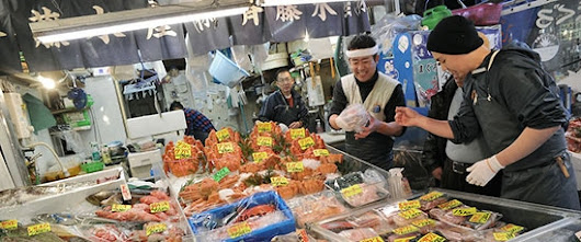 The Tsukiji Fish Market is Moving