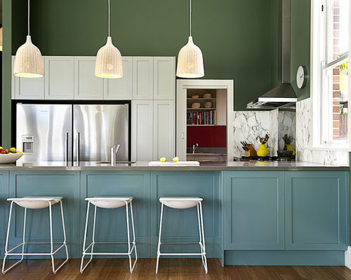 Different Color Kitchen Island Home Design Ideas, Pictures ...