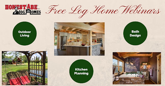 Log Home Free Webinars for Planning by Log Home Living