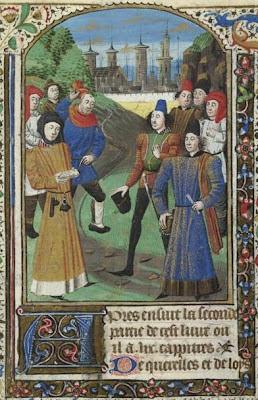 Roupas e costumes da Normandia medieval