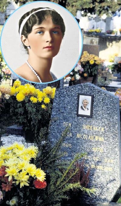 На кладбище в итальянской деревушке Маркотта стояла могильная плита, на которой упокоилась Княжна Ольга Николаевна, старшая дочь русского царя Николая II. В 1995 году могила, под предлогом неуплаты ренты, была уничтожена, а прах перенесён
