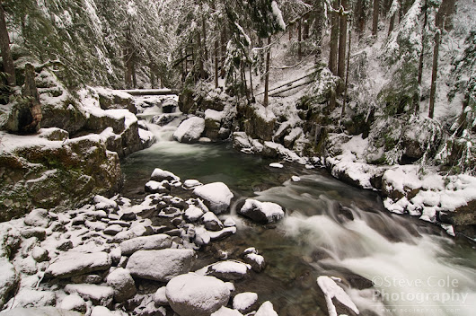 Early Winter at Deception Creek | Steve Cole Photography