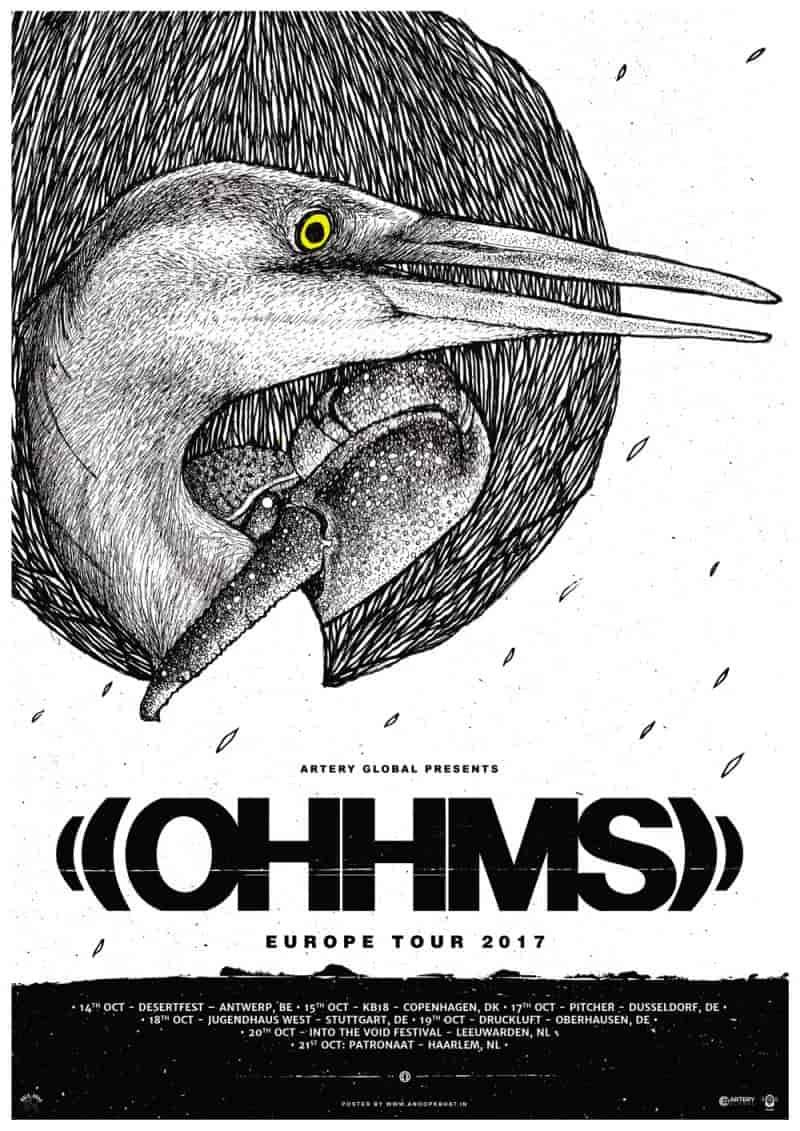 OHHMS European Tour Poster
