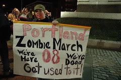 Portland Zombie March 08