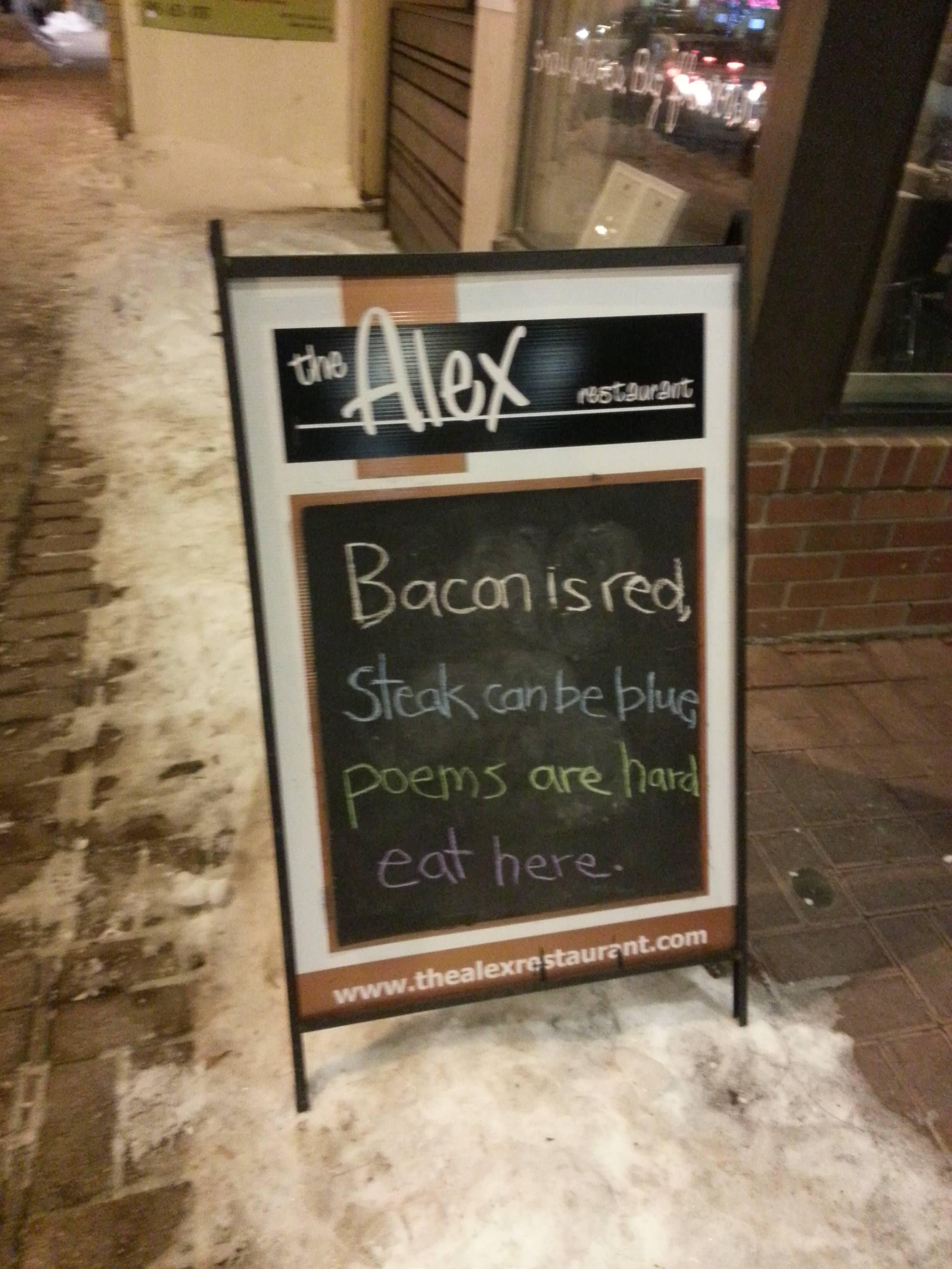 18 Funny Restaurant Signs