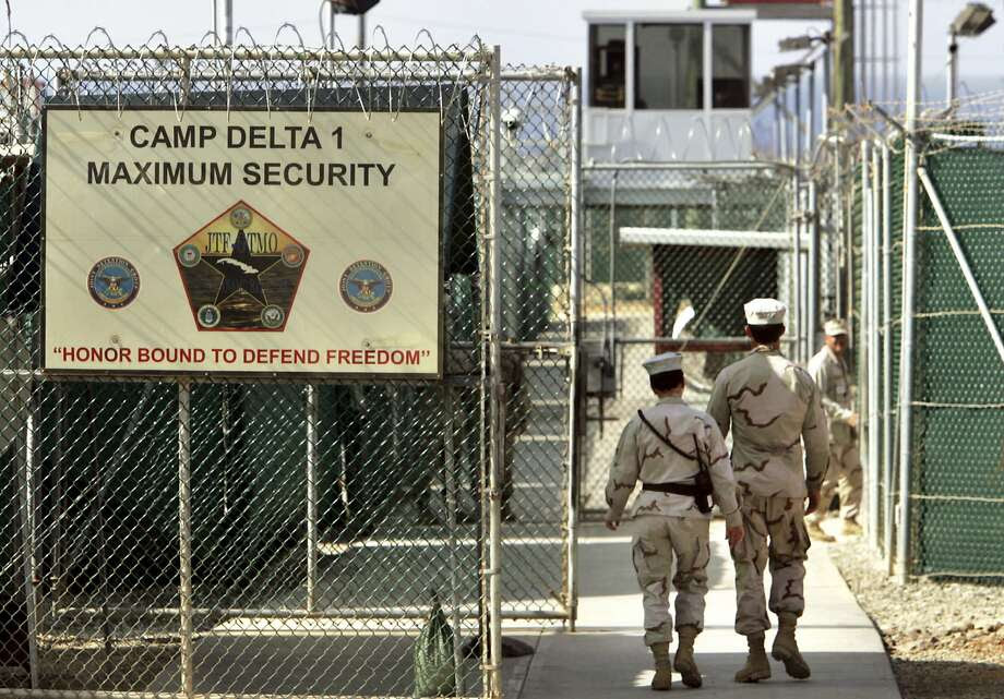 Trump's vow to add new prisoners to Guantanamo was a popular sound bite during his campaign. Photo: Brennan Linsley, Associated Press